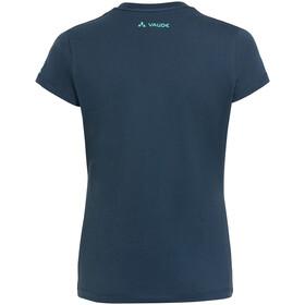 VAUDE Logo Shirt Women, steelblue